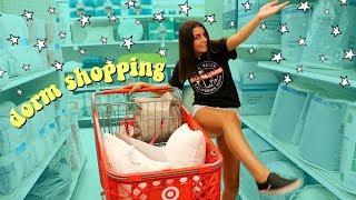 Download college dorm room shopping vlog Video