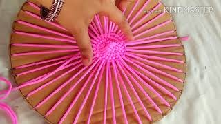 Download NO KNOT,NO PIPING. MAKE AWESOME TABLE MAT WITH EASY TUTORIAL. Video