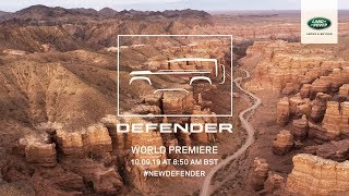 Download The New Land Rover DEFENDER - Live Reveal from Frankfurt Motor Show Video