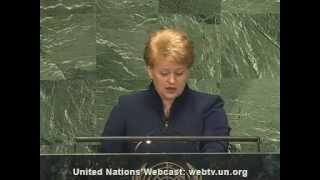 Download Dalia Grybauskaitė kalba angliškai Video