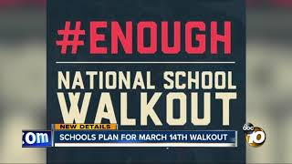 Download Schools plan for March 14 walkout Video