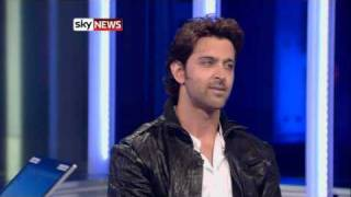 Download Hrithik's interview on sky news London Video