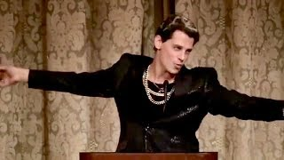 Download Flaming Gay Conservative & Trump Supporter - MILO, Gives Fabulous Speech On Culture War Video