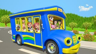 Download Wheels On The Bus | ABC Song | More Nursery Rhymes by Little Treehouse Video
