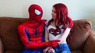 Download Spiderman and Mary Jane In Real Life (A day in the life of Spider-man) Video