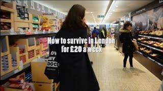 Download How to survive in London for £20 a week Video