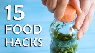 Download 15 FOOD HACKS THAT ARE SIMPLY GREAT! Video