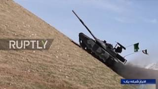 Download Iran: Tehran kicks off mass production of Russian T-90MS-inspired tank Video
