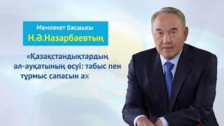 Download Мемлекет басшысы Н.Ә.Назарбаевтың Қазақстан халқына жолдауы (20.10.18) Video
