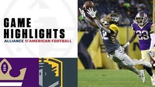Download Atlanta Legends vs. San Diego Fleet | AAF Week 2 Game Highlights Video