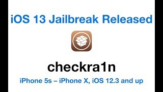 Download How to Jailbreak iPhone 5s – iPhone X, iOS 12.3 and up - checkra1n ? Video