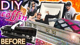 Download I Made My Own Holo Glitter Coffin ft.Threadbanger (dying to get inside) Video