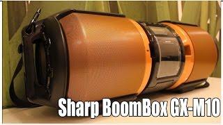 Download Русский обзор Sharp BoomBox GX-M10 СоветыБывалого Video