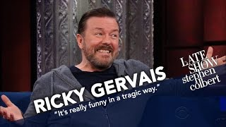 Download Ricky Gervais Will Know Science Failed Him If He Ever Meets The Devil Video