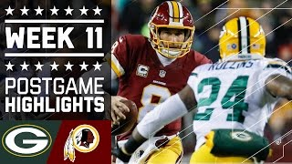 Download Packers vs. Redskins | NFL Week 11 Game Highlights Video
