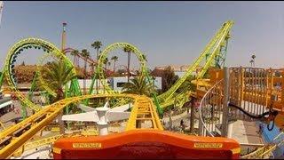 Download Coast Rider Roller Coaster POV Knotts Berry Farm California Video