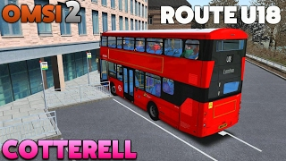 Download OMSI 2 Let's Play #45 | London Citybus Gemini 3 B5LH [BETA] | Cotterell: Route U18 Video