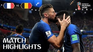 Download France v Belgium - 2018 FIFA World Cup Russia™ - Match 61 Video