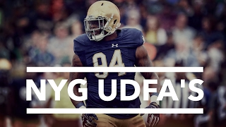Download New York Giants UDFA's for 2018 Video
