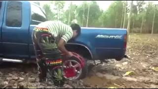 Download Incredible Invention Truck Stuck In Mud Video