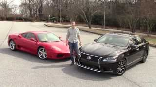 Download Would You Rather: Ferrari 360 Modena vs. Lexus LS460 Video