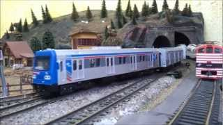Download Ferreomodelismo , MAQUETE TREM HO (2) Video
