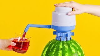 Download How to Make Watermelon Juice Dispenser Video