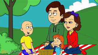 Download Caillou's Relaxing Picnic Day Video