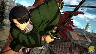 Download Attack on Titan: Wings of Freedom - Levi Ackerman Gameplay【FULL HD】 Video