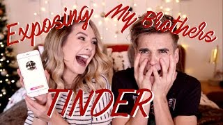 Download Exposing My Brothers Tinder | Zoella Video