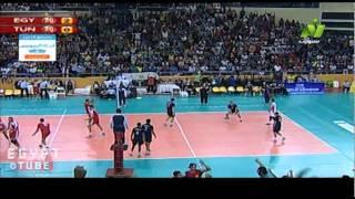 Download عودة كبيرة لمنتخب مصر من تقدم تونس 20-16 لفوز مصري 25-21 - نهائى افريقيا - كرة طائرة Video