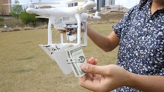 Download Deliver Money to Homeless Using a Drone!!! (Phantom 3) (Social Experiment) Video