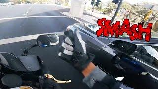 Download Biker Smash Mirror | Road Rage | Angry People vs Bikers Compilation | [Ep. #50] Video