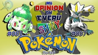 Download My Opinion on EVERY Shiny Pokémon [Generation 1 to 7] Video