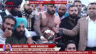Download Final Match - Shahkot Lions v/s Royal Kings USA - Boparai Kalan Kabbadi Cup - 2019 Video