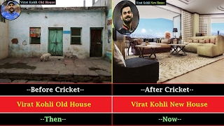 Download Indian Cricketers Houses Before And After Join Cricket || Old Houses vs New Houses Video