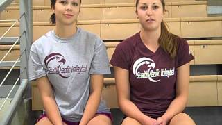 Download SPU VOLLEYBALL: Nicole Schwend and Nikki Lowell (Aug. 20) Video