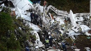Download Colombia plane crash 75 dead on Brazil soccer team's charter flight Video