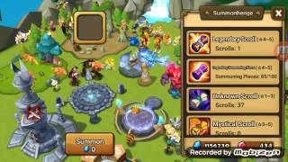 Download Summoners War - Ritual for natural born 5 star * summoning! - Water Occult Girl Anavel!! Video