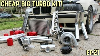 Download THE BIG TURBO KIT IS COMPLETE! : BMW E36 325i Drift Build Ep.21 Video