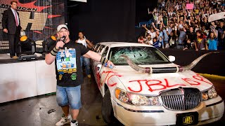 Download John Cena and Cryme Tyme give JBL's limo a makeover: Raw, July 7, 2008 Video