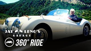 Download Take a 360˚ Virtual Reality Drive with Jay Leno in a 1954 Jaguar XK120! - Jay Leno's Garage Video