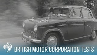 Download British Car Trials on The Autobahn: Tests Such As These | British Pathé Video
