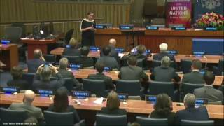 Download Agreement ceremony as RT starts broadcasting on UN HQ network Video
