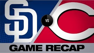 Download Mejia homers in Padres' 3-2 win | Padres-Reds Game Highlights 8/19/19 Video