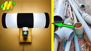 Download Membuat Lampu Hias Dinding cuma modal PIPA AIR #kerajinan tangan Video