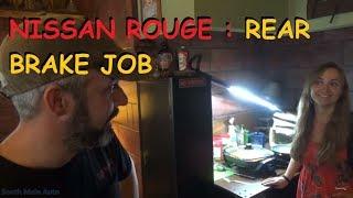 Download Nissan Rogue: Rear Brake Job Video