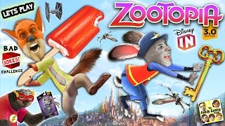 Download SLOTH UNBOXING? Lets Play DISNEY INFINITY 3.0 Zootopia Challenge w/ Nick & Judy (FGTEEV CHALLENGE) Video