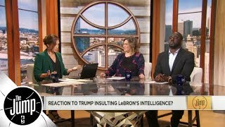 Download The Jump reacts to Donald Trump's LeBron James tweet | The Jump | ESPN Video