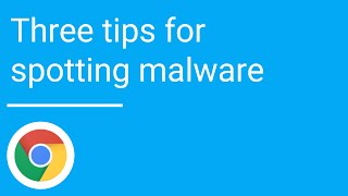 Download Three tips for spotting malware Video
